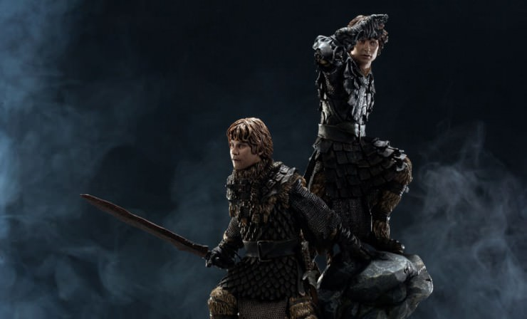 Frodo and Samwise Diorama from SideshowCollectibles.com