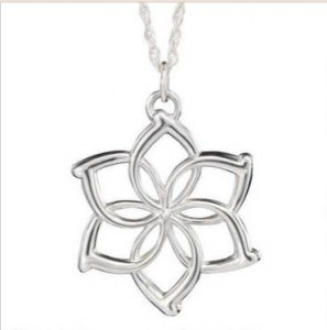 Galadriel's Flower Necklace