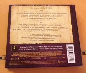 Soundtrack Back Cover