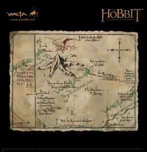 Thorin's Map Weta