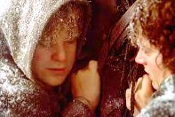 Snowy Hobbits