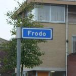 Street Names Frodo