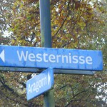 Street Names Westernisse