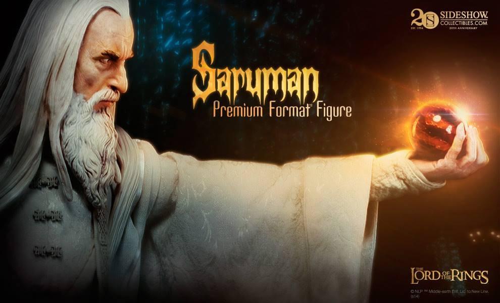 Collecting The Precious Sideshow Collectibles Saruman The