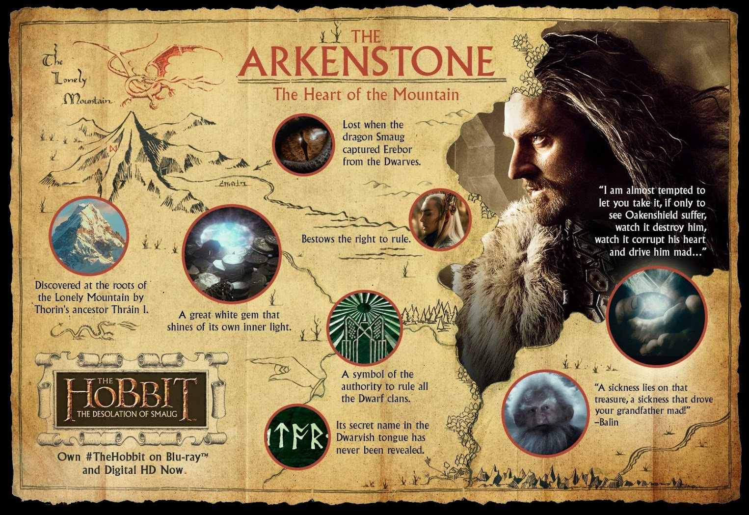 check out this very cool poster about the arkenstone