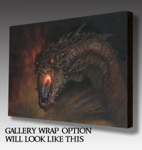 gallery wrap Smaug