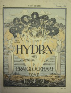 One of the missing issues of The Hydra, rediscovered in an Oxford attic thanks to my researches. The magazine was produced by officers being treated for war trauma. Wilfred Owen published his first classic war poems in its pages.