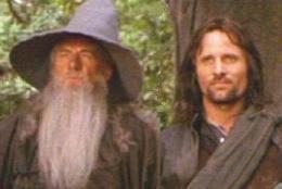 Gandalf and Aragorn