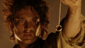 Frodo at Mount Doom