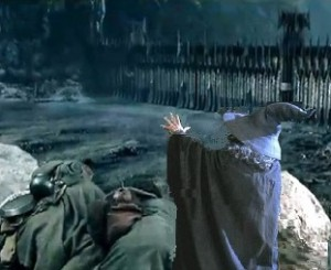 Gandalf at the Black Gate