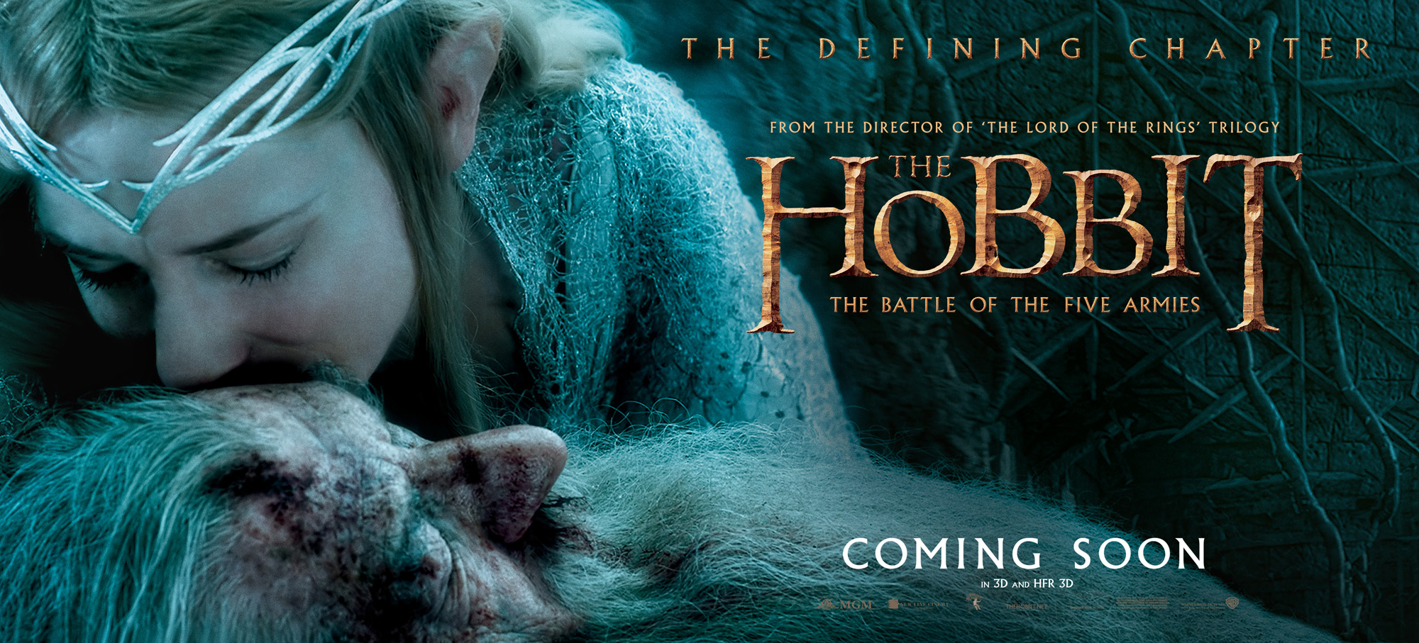 Le Seigneur des Anneaux / The Hobbit #3 HBFA_30Sht_Kiss_RGB_INTL