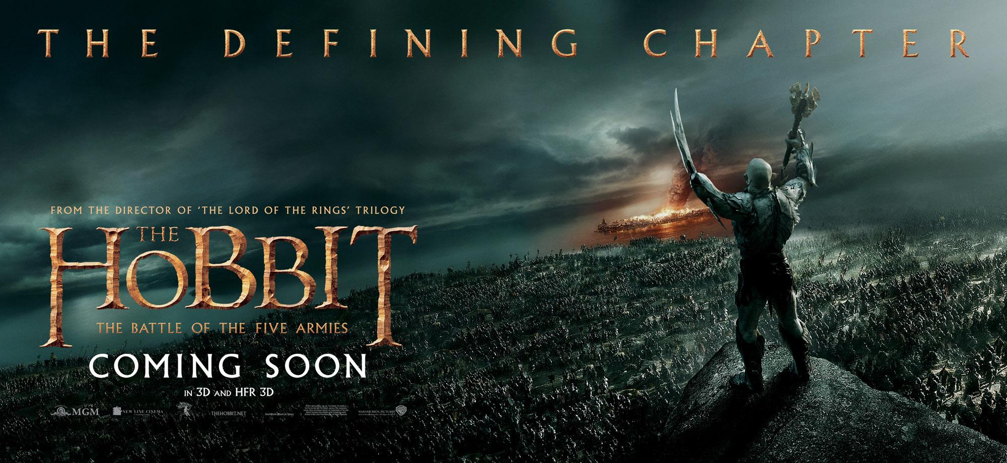 Le Seigneur des Anneaux / The Hobbit #3 HBOFA_30sht_AzogBattle_RGB_INTL_master