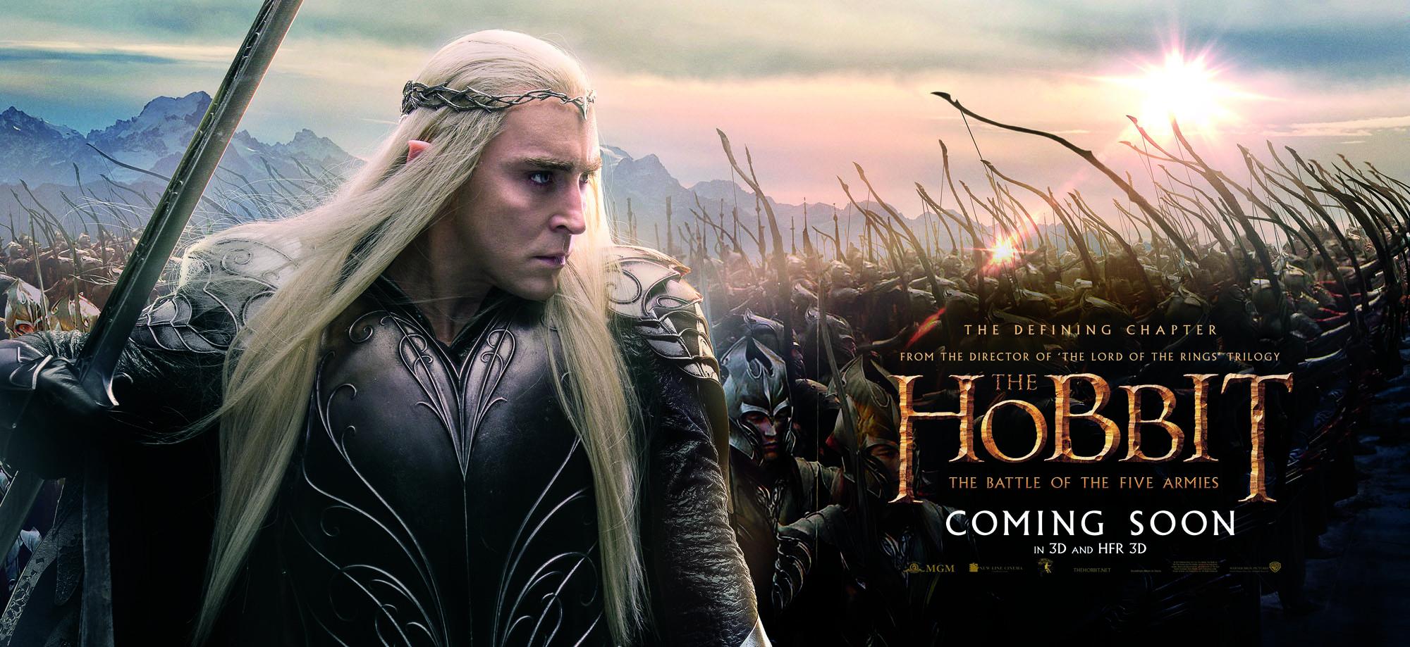 Le Seigneur des Anneaux / The Hobbit #3 HBOFA_Bus_ThandruilArmy_RGB_INTL