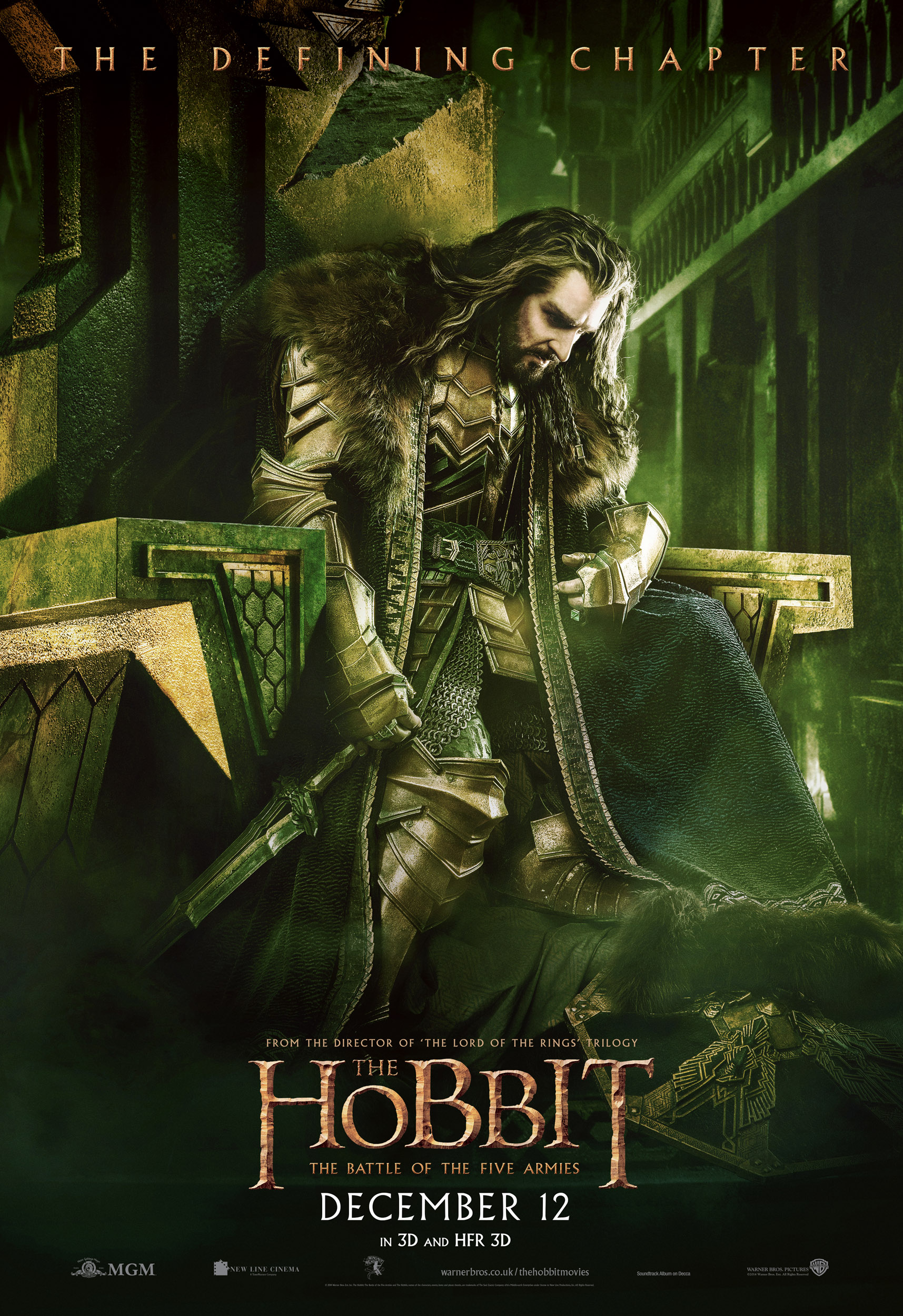 Le Seigneur des Anneaux / The Hobbit #3 UK_Thorin_Erebor_HBFA