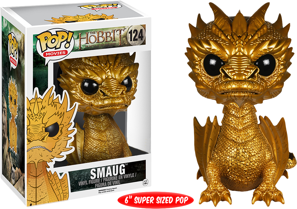 Pre Order Smaug The Golden Pop Figurine From Funko