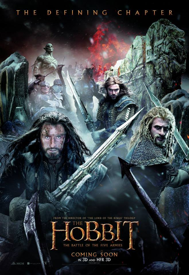 New The Hobbit: the Battle of the Five Armies poster ...