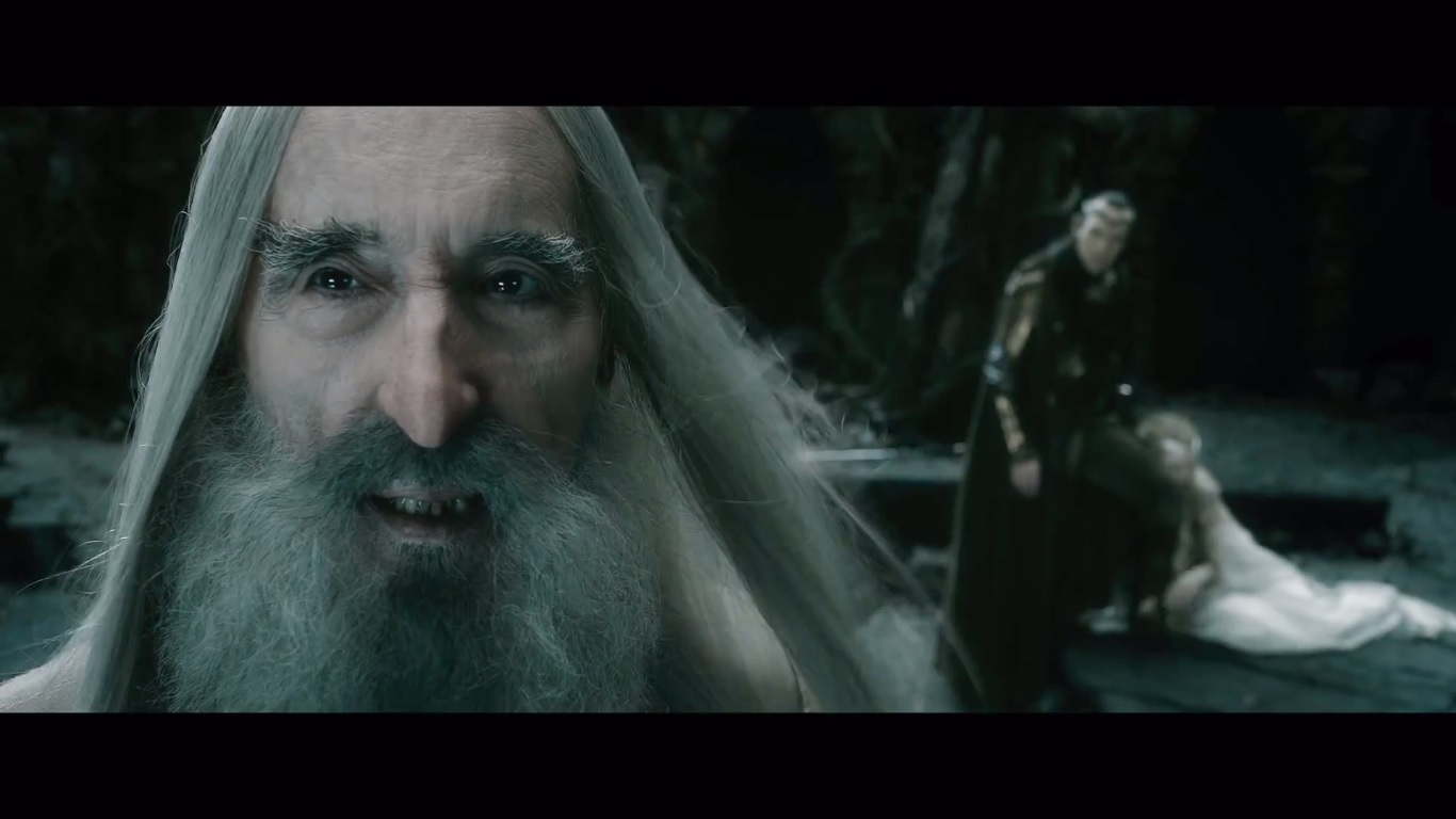 When Exactly Did Saruman Fall Hobbit Movie News And