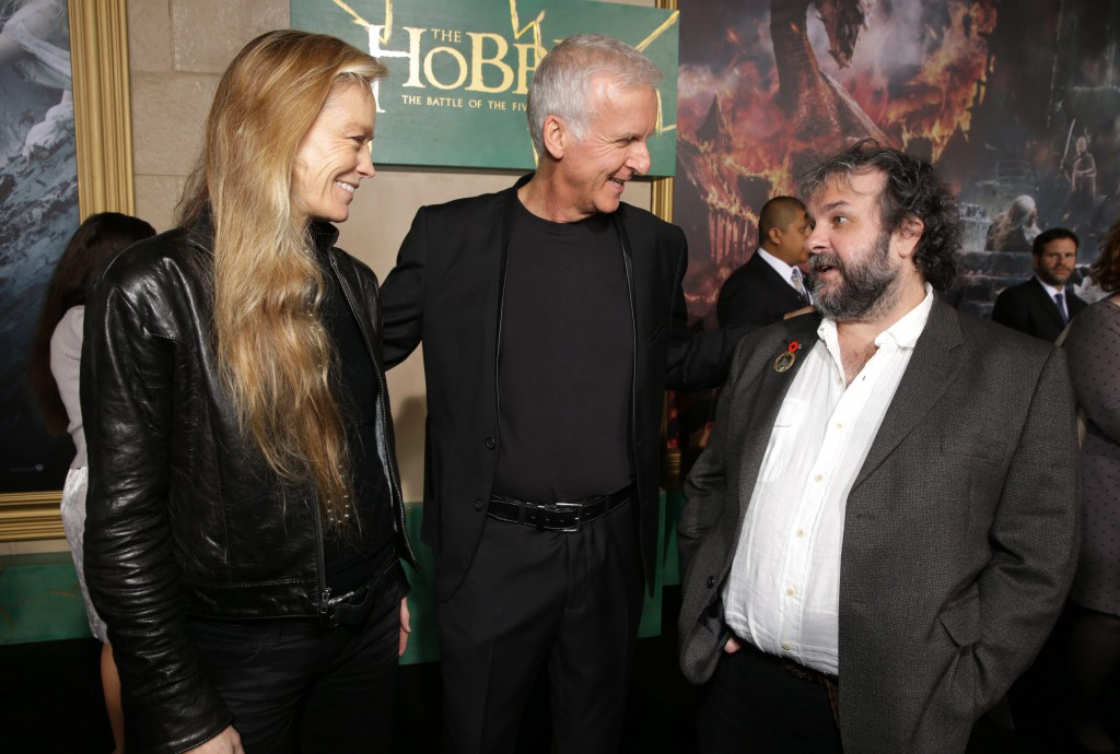 Susie Amos, James Cameron, Peter Jackson