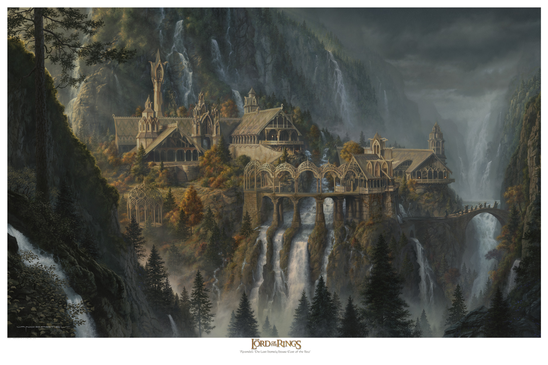 Collecting The Precious Vanderstelt Studio Rivendell Art Print