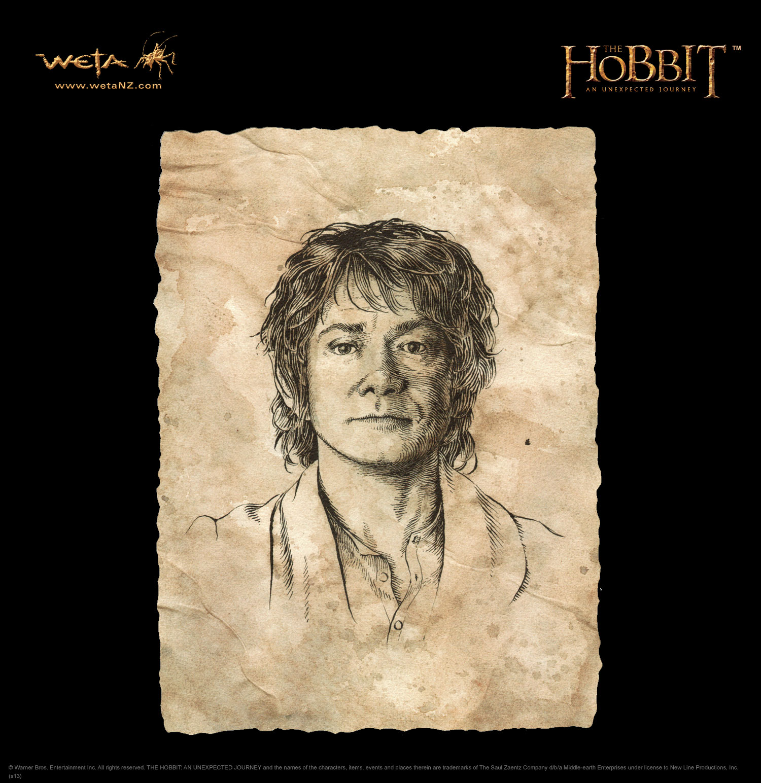 A focus on the main character bilbo baggins in the story of hobbit