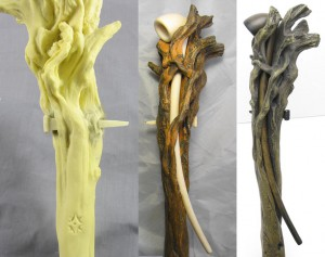 Gandalf Staff Molds and Prototyping_s