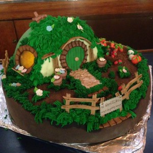 One Last Party - Bag End Cake