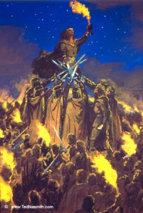 The Oath of Feanor - Ted Nasmith