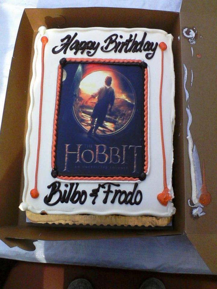 Baggins Birthday Cake Hobbit Movie News And Rumors Theonering
