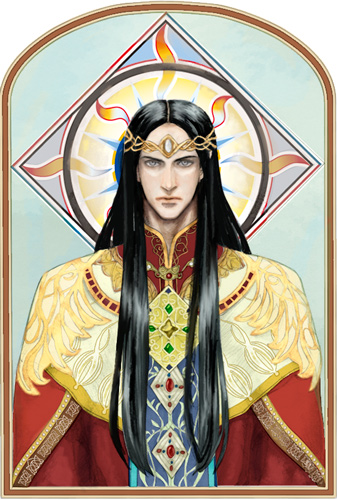 Hall of Fire this weekend: Feanor, Spirit of Fire | Hobbit ...