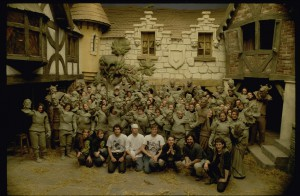 Peter Jackson, Richard Taylor and their team on Heavenly Creatures