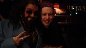 Actor John Bell meets 70s Thorin in the bar