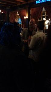 Ringers take Manhattan - partygoers with Graham McTavish