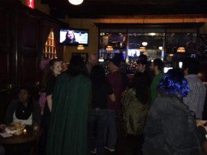Partygoers meeting Graham McTavish - Ringers take Manhattan