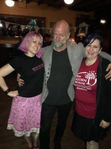 Ringers take Manhattan - Graham McTavish with staffers greendragon and deej