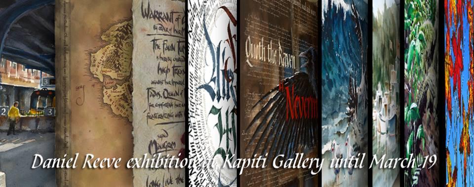Daniel Reeve Exhibition