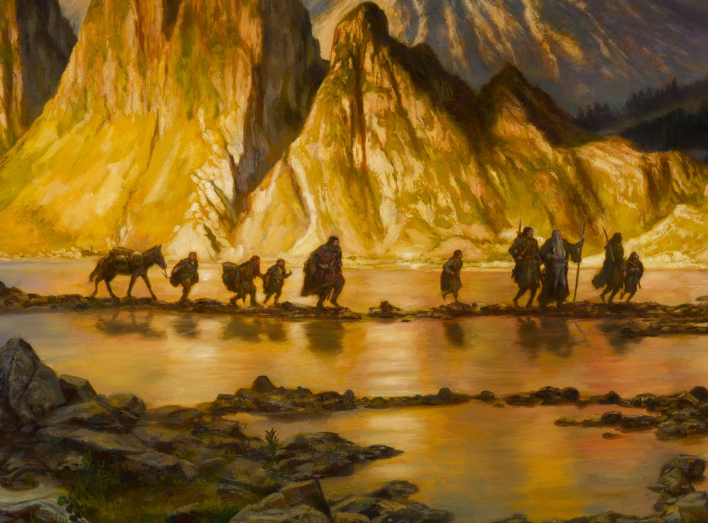 Middle Earth Artist Donato Giancola Artist Guest Of