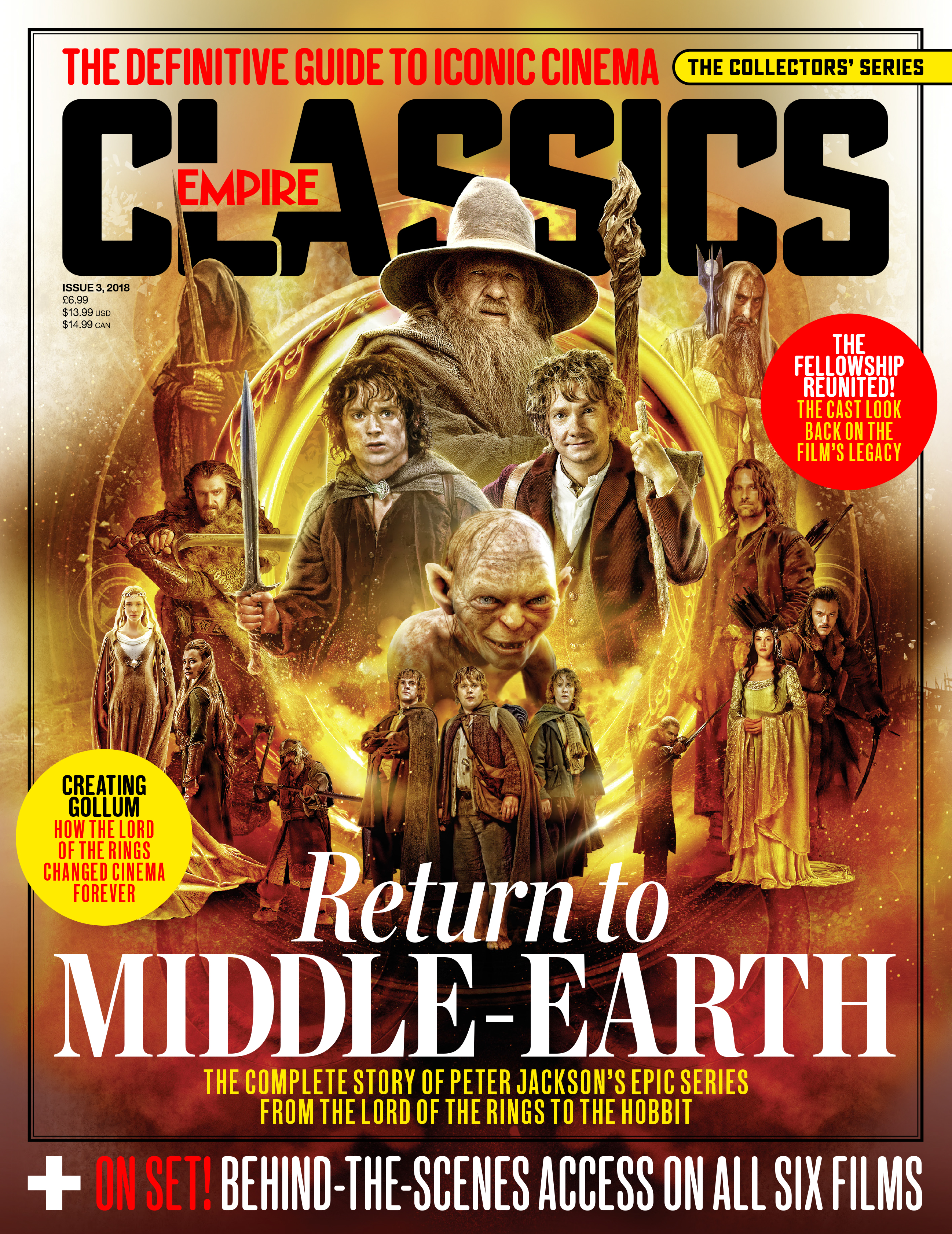 TOR.n received an exclusive announcement today from Empire -the worlds  biggest movie magazine- that they will be publishing a special edition on The  Lord of ...