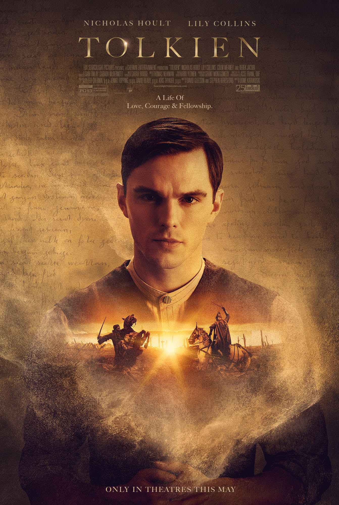 "TheOneRing.net Exclusive!: New ""Tolkien"" Movie Poster"