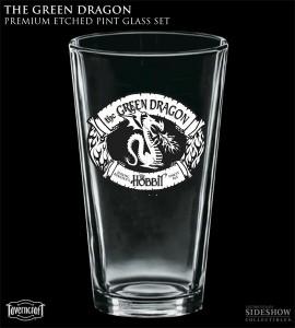 The Green Dragon Pint Glass Set