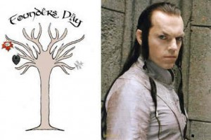 Founders Day and Lord Elrond
