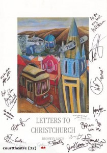 Bronwyn Lange print signed by the cast of The Hobbit