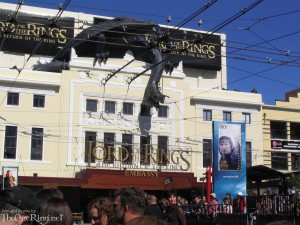 Ringwraith and Fell Beast on the Embassy Theatre