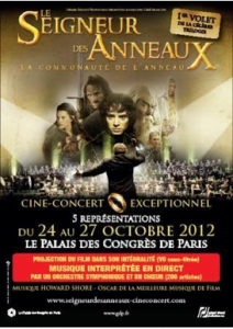 Fellowship of the Ring live in Paris