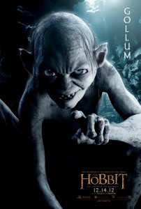 Gollum Unexpected Journey character poster