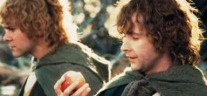 Pippin with apple