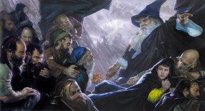The Hobbit by Donato Giancola