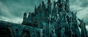 Dol Guldur from An Unexpected Journey.
