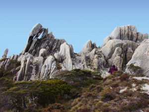 Olympus Rocks - a place to hide from the spies of Saruman