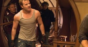 Rob Kazinsky at Bag End.