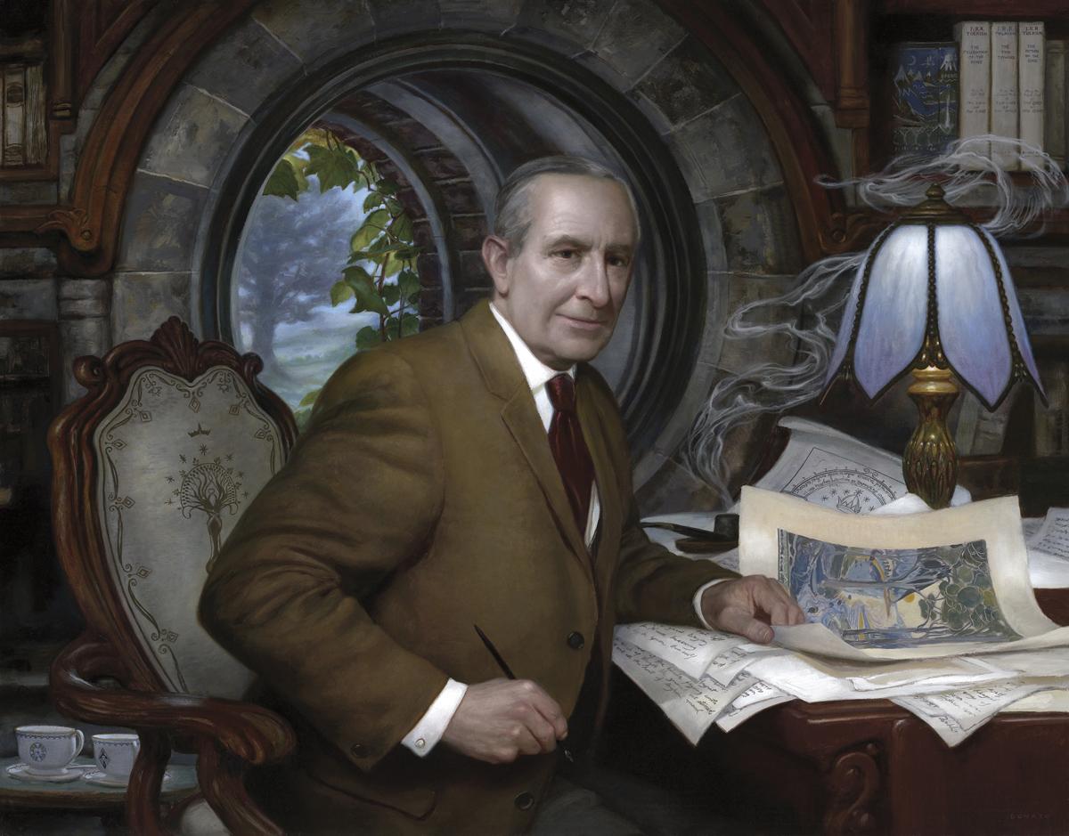 JRR Tolkien painting